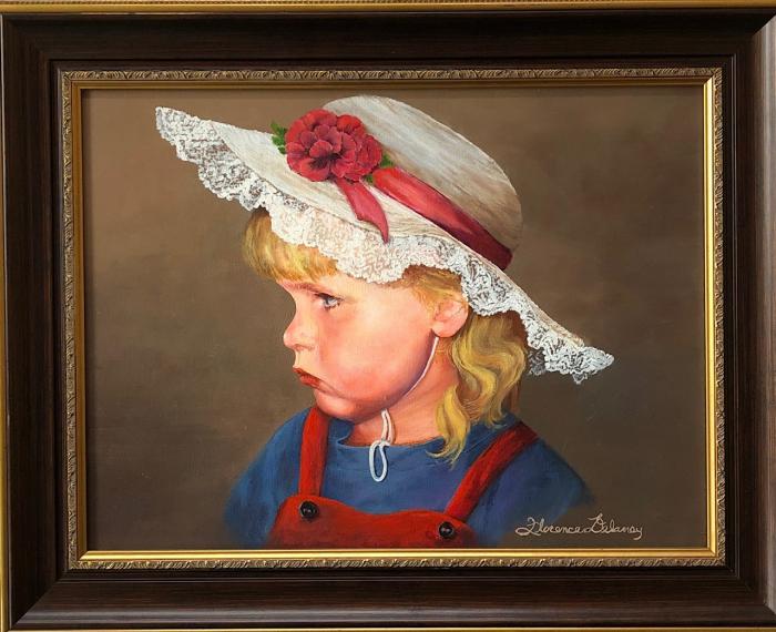 «Мишель надутая», художник Флоранс Деланей. (С любезного разрешения Моны Шрэй)
