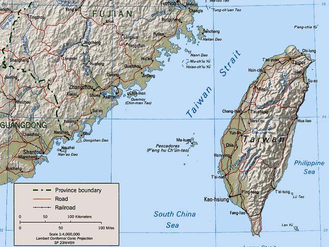 Китаец пересёк Тайваньский пролив на резиновой лодке. Морской патруль его не заметил
