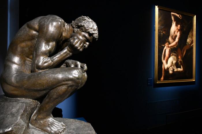 «Каин», 1902 г., Доменико Трентакосте. Бронза. Национальная галерея современного искусства, Рим. (Fabio Blaco / The Uffizi Galleries)