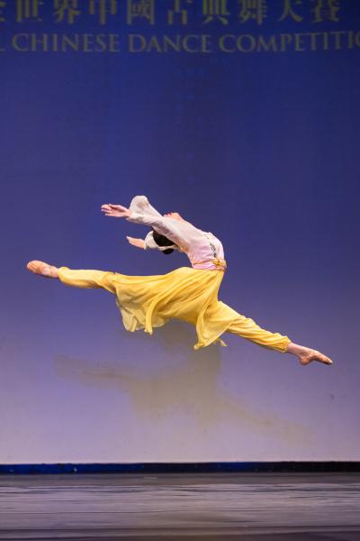 Мишель Лиан выиграла Золотую награду на Международном конкурсе классических китайских танцев NTD 2018.