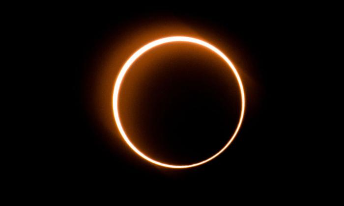 Редкое солнечное затмение «Огненное кольцо». Танджун Пиай (крайняя южная точка материковой Евразии), Малайзия, 26 декабря 2019 г.