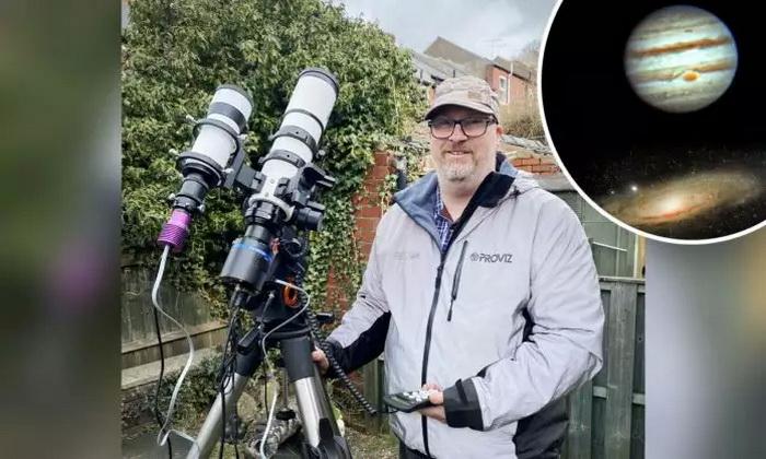 Астроном-любитель нашёл Вселенную в собственном саду