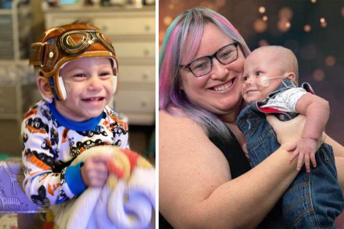 Мальчик по имени Хавен Грейсон Смит при рождении весил меньше килограмма и был не больше банки «Кока-колы»