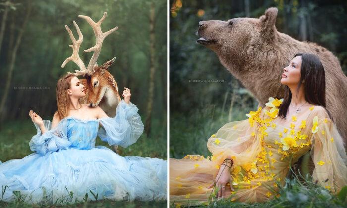 Фотограф Анастасия Добровольская: Хочу подчеркнуть красоту животных и их схожесть с людьми