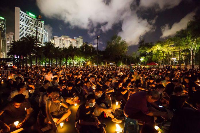 Предстоящая акция со свечами в Гонконге в память о жертвах бойни на площади Тяньаньмэнь под вопросом