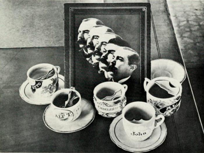 Усовая чашка сберегала викторианским мужчинам их истинную красоту