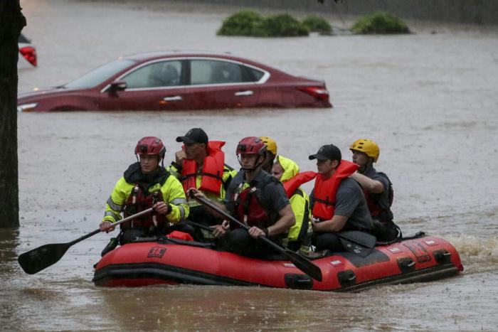 ураган, машина, вода, лодка, алабама