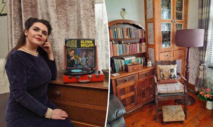 Винтажный стиль помог женщине сохранить очарование старого дома