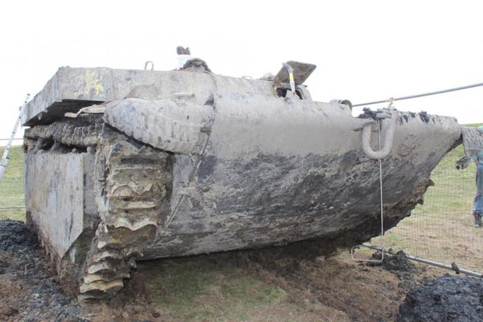 автомобиль-амфибия времён Второй мировой войны