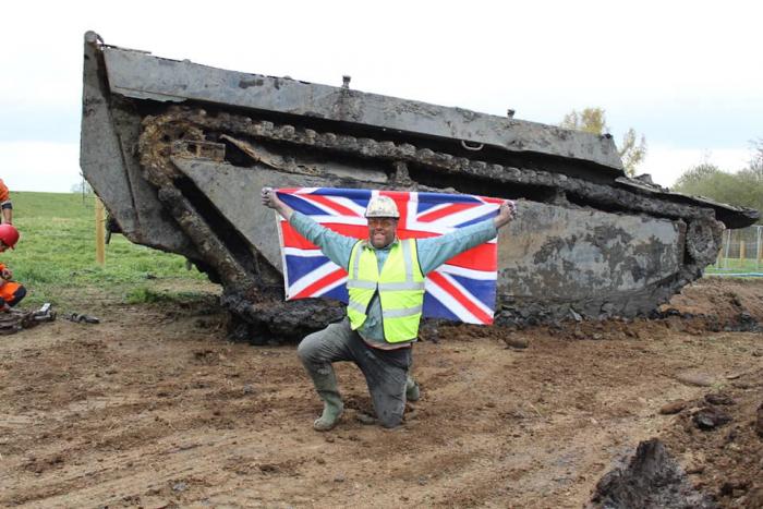Фермер из Великобритании нашёл автомобиль-амфибию времён Второй мировой войны