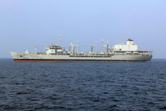 Корабль ВМФ «Харг».