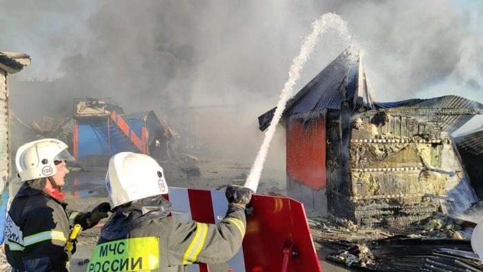 В Новосибирске от взрыва газовой автозаправки пострадали более 30 человек