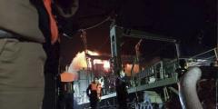 Крупнейший военный корабль Ирана загорелся и затонул в Оманском заливе