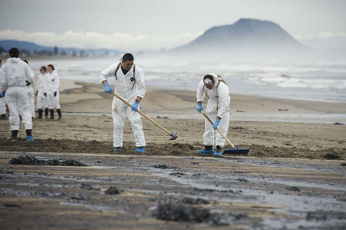 Индийскому океану грозит экологическая катастрофа из-за сгоревшего судна с кислотой