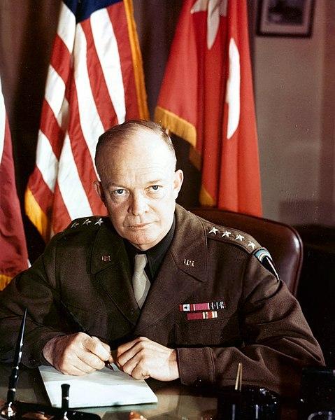 Генерал армии Дуайт Дэвид Эйзенхауэр