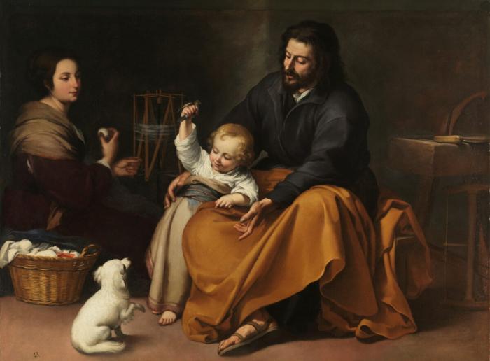 Оды отцам в живописи Бартоломе Эстебана Мурильо