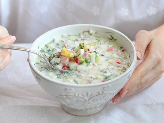 Различные виды окрошки и холодные летние супы