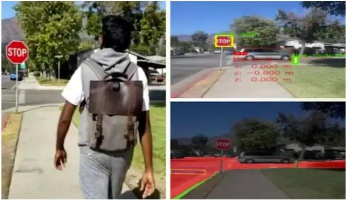 Рюкзак-навигатор — спасение для слепых и слабовидящих