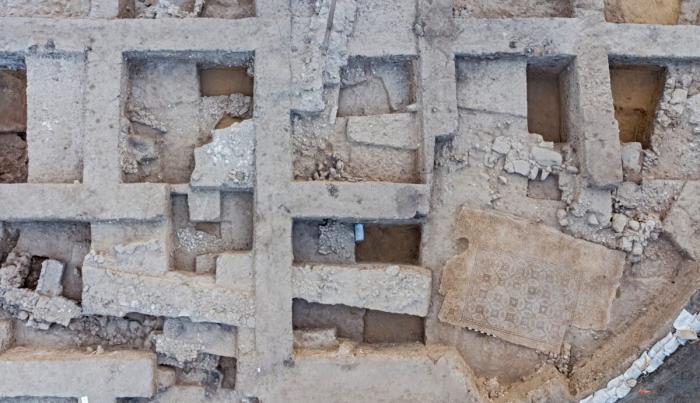 Красочная мозаика 1600-летней давности обнаружена в Израиле