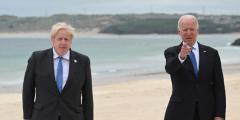 США и Великобритания подписали новую Атлантическую хартию, противостоящую коммунистической идеологии Китая