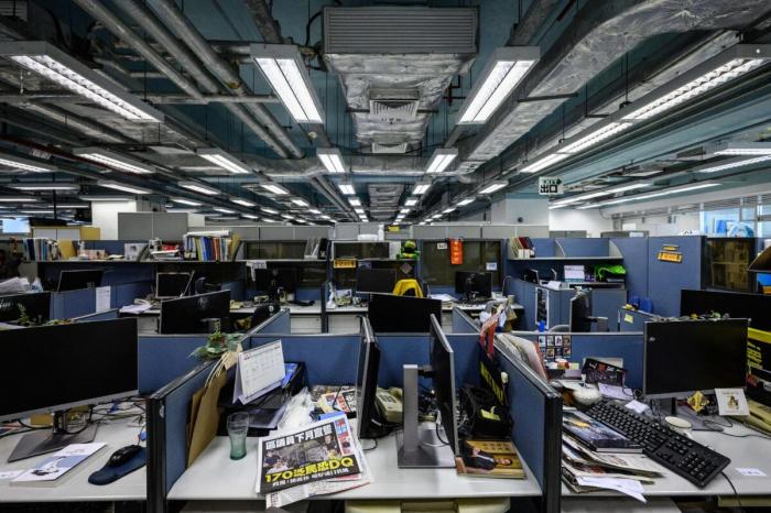 Apple Daily в Гонконге вынуждена закрыться под давлением китайских властей