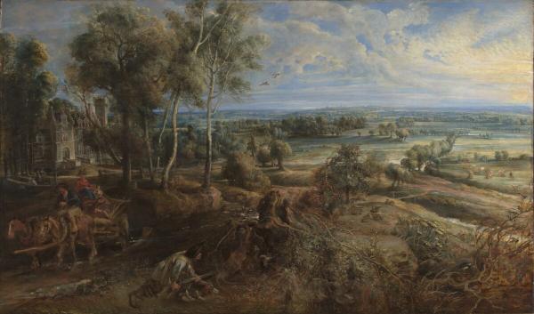 Любимые пейзажи Рубенса снова вместе