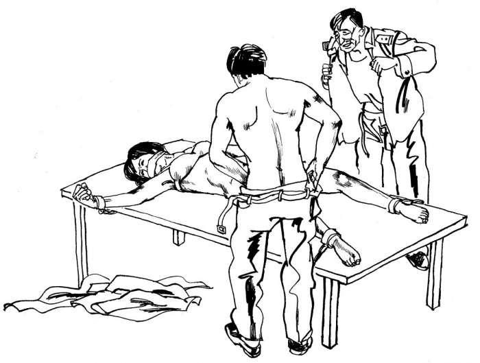 «У нас имеется 108 методов пыток! Надеетесь выйти отсюда живыми?»