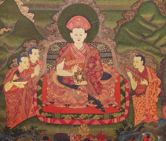 Реинкарнация: маленький монашек помнит, кем он был в прошлой жизни