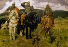 Могли ли знаменитые три богатыря идти на битву вместе