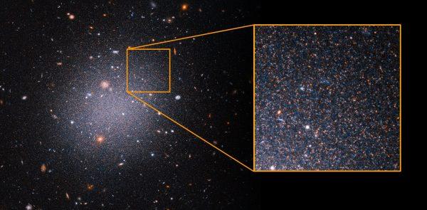 hubble data confirms g 600x295 1 - Данные телескопа «Хаббл» подтверждают, что в некоторых галактиках отсутствует тёмная материя