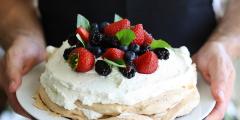 Торт «Павлова»: старинный рецепт с необычной историей