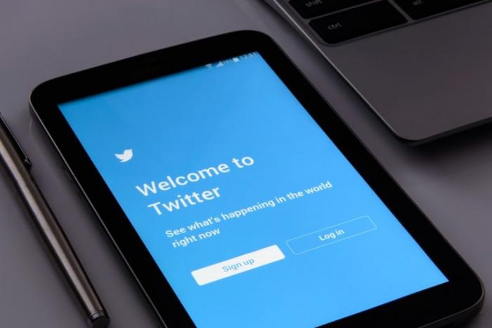 смартфон, Твиттер, китай, социальные сети