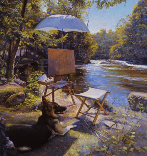 По следам Леонардо: художник-реалист Джоэл Бэбб о своём пути в искусстве