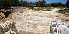 Археологи раскопали самую большую римскую базилику в Израиле