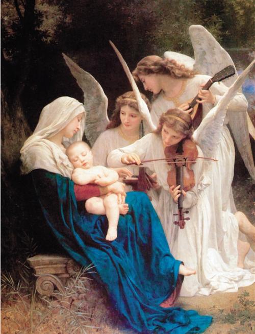 Согласие с волей Неба. Картина «Богородица с ангелами» Вильяма Бугро