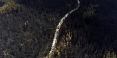 Лесные пожары в Сибири тушат с самолётов, жители просят о помощи