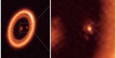 Учёные впервые обнаружили лунообразование в космосе