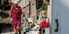 Бельгийский город снова пострадал от сильнейшего наводнения