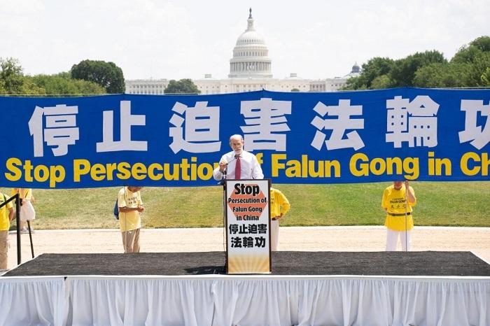 9ED1058 1 1200x800 1 - Фотогалерея: Марш последователей Фалуньгун в Вашингтоне призывает к прекращению 22-летнего преследования в Китае