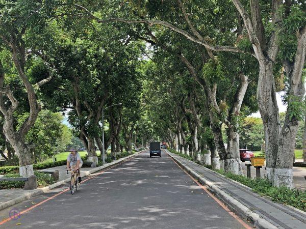 Зелёный туннель Гакинг на юге Тайваня