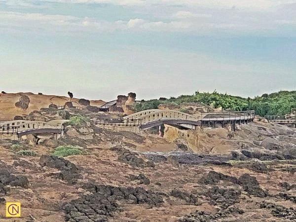 Верблюжья гора: удивительные скальные образования в окресностях тайваньского Тайбэя