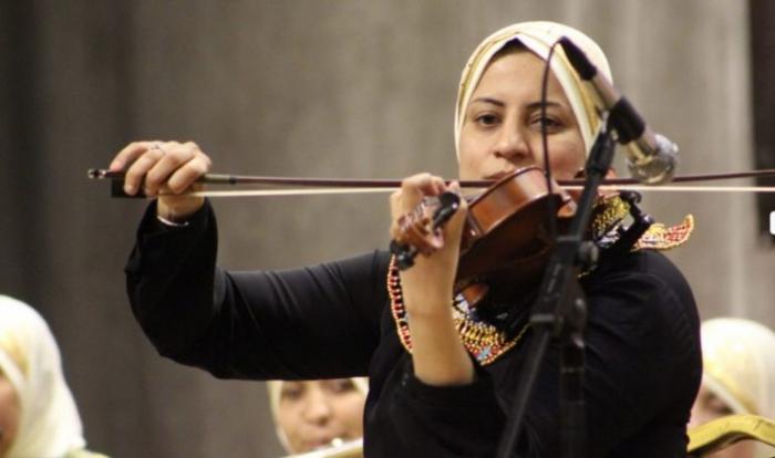 Египетский оркестр слепых женщин