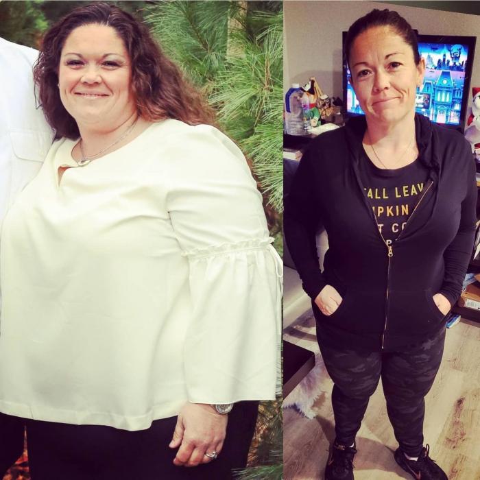 Becky e1625402490456 - Тучные супруги избавились от огромного веса, и это обнадёжило многих толстяков