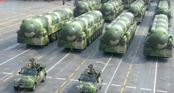 Тревожные новости о наращивании Китаем ядерного потенциала