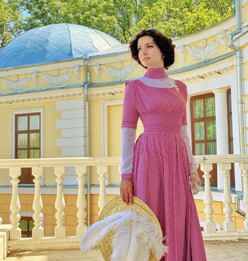 Одежда XIX века для учителя танцев с Украины