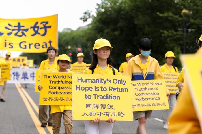 Epoch Times 9A6A0593 1200x800 1 - Фотогалерея: Марш последователей Фалуньгун в Вашингтоне призывает к прекращению 22-летнего преследования в Китае