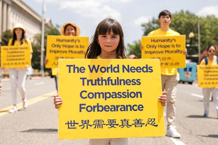 Epoch Times 9A6A0686 1 1200x798 1 - Фотогалерея: Марш последователей Фалуньгун в Вашингтоне призывает к прекращению 22-летнего преследования в Китае