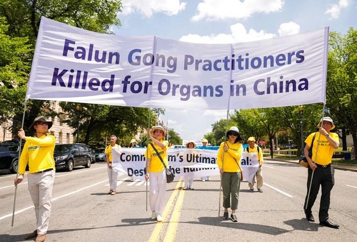 Epoch Times 9A6A0820 1 1200x817 1 - Фотогалерея: Марш последователей Фалуньгун в Вашингтоне призывает к прекращению 22-летнего преследования в Китае