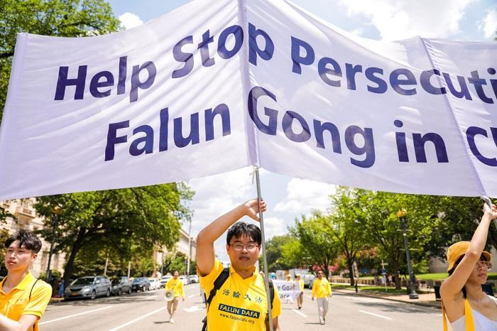 Epoch Times 9A6A0847 1200x800 1 - Фотогалерея: Марш последователей Фалуньгун в Вашингтоне призывает к прекращению 22-летнего преследования в Китае
