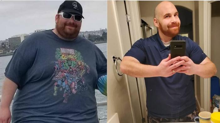Ethan Becky 2 e1625402309552 - Тучные супруги избавились от огромного веса, и это обнадёжило многих толстяков